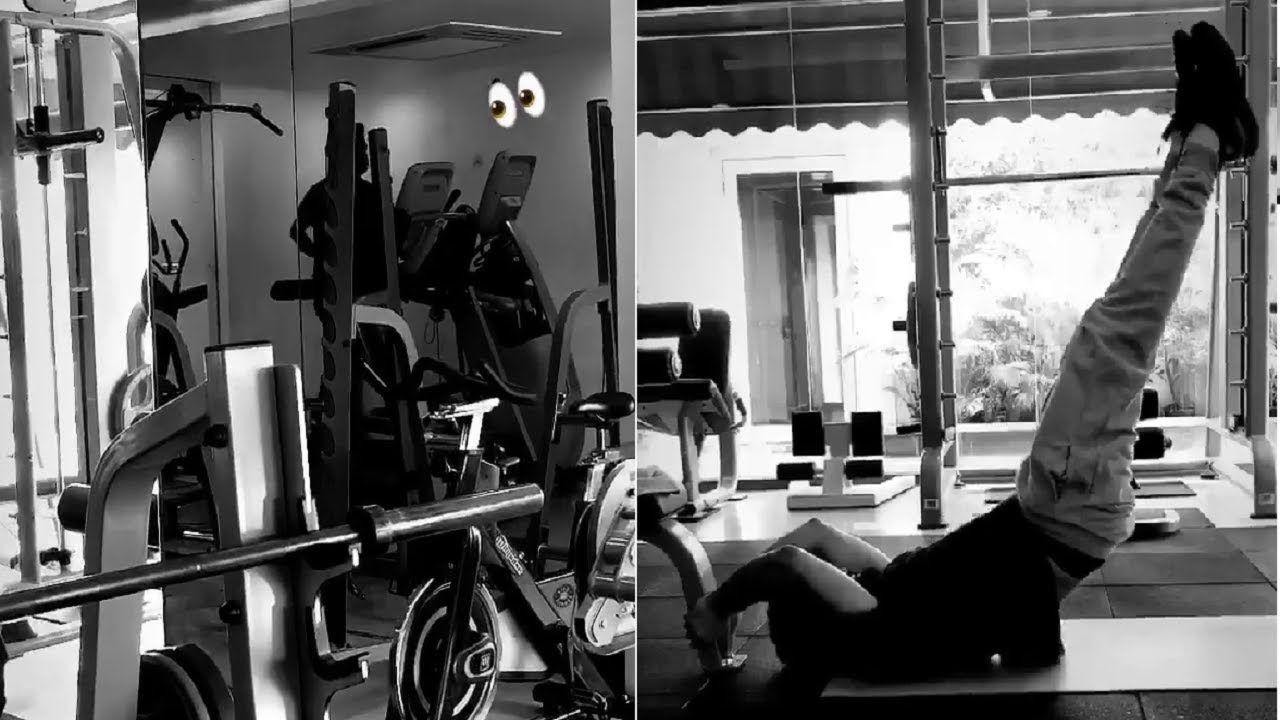 Jr NTR hitting gym very hard to sport a new look for his next Film