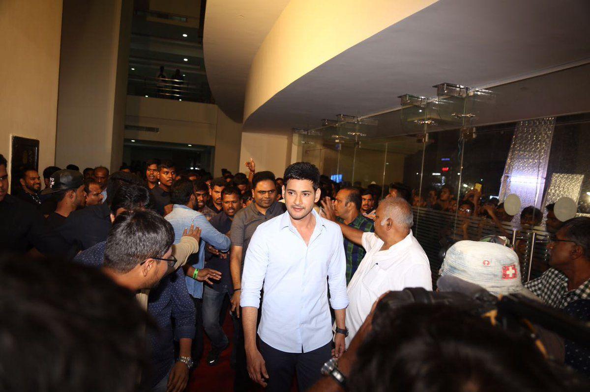 Mahesh Babu Stills at Spyder Movie Audio Launch
