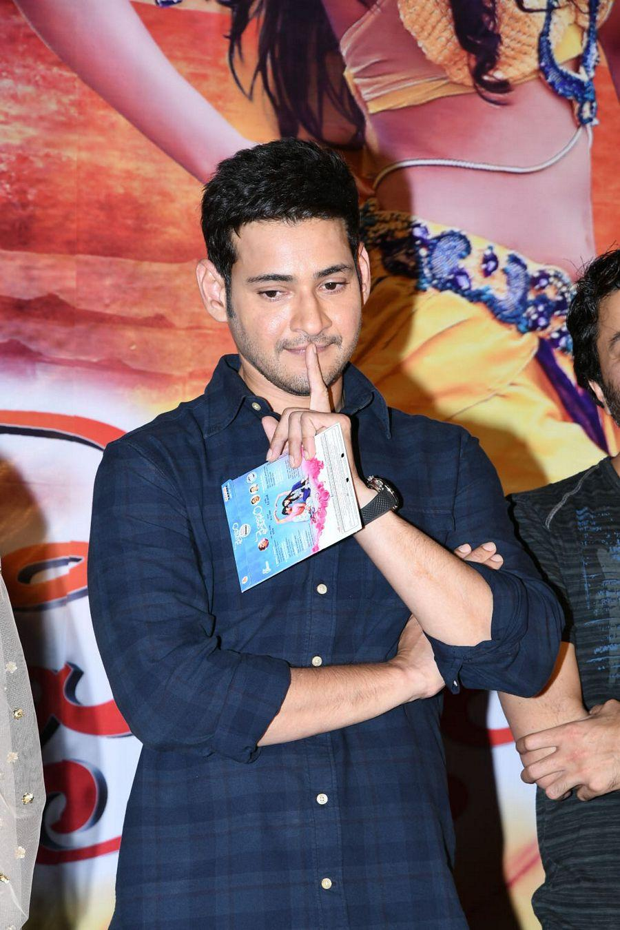Mahesh Babu Stills at Vaishakam Movie Audio Launch