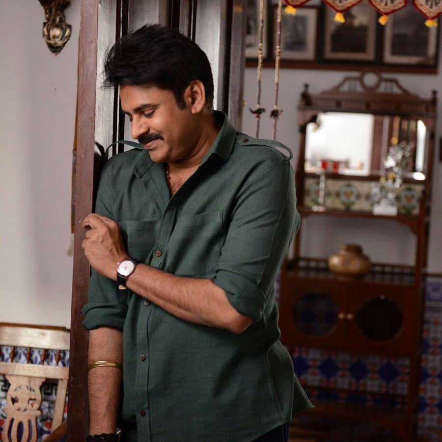 Pawan Kalyan New Stills From Katamarayudu Movie