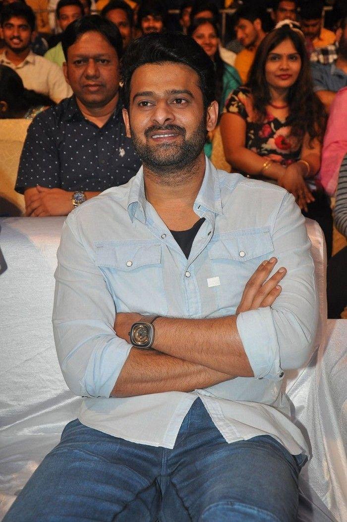 Prabhas Stills at Anando Brahma Movie Pre Release Function