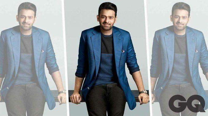 Prabhas on GQ cover page looking Stylish Photos