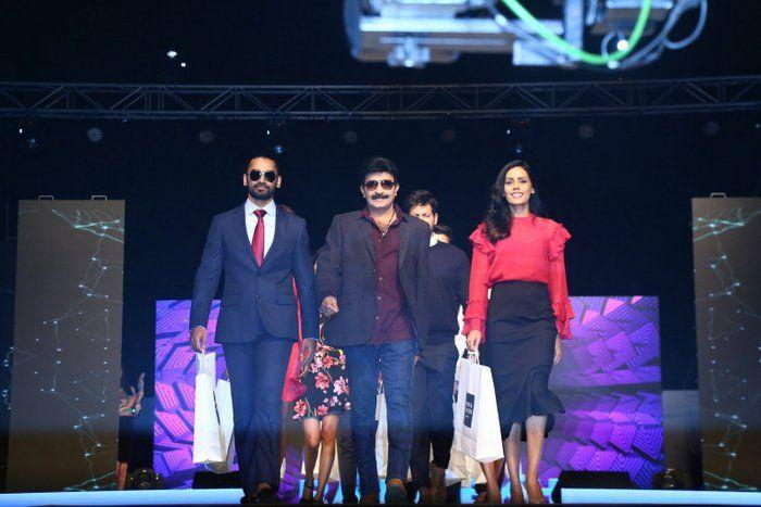 Rajasekhar walks the ramp at Spencer event Photos