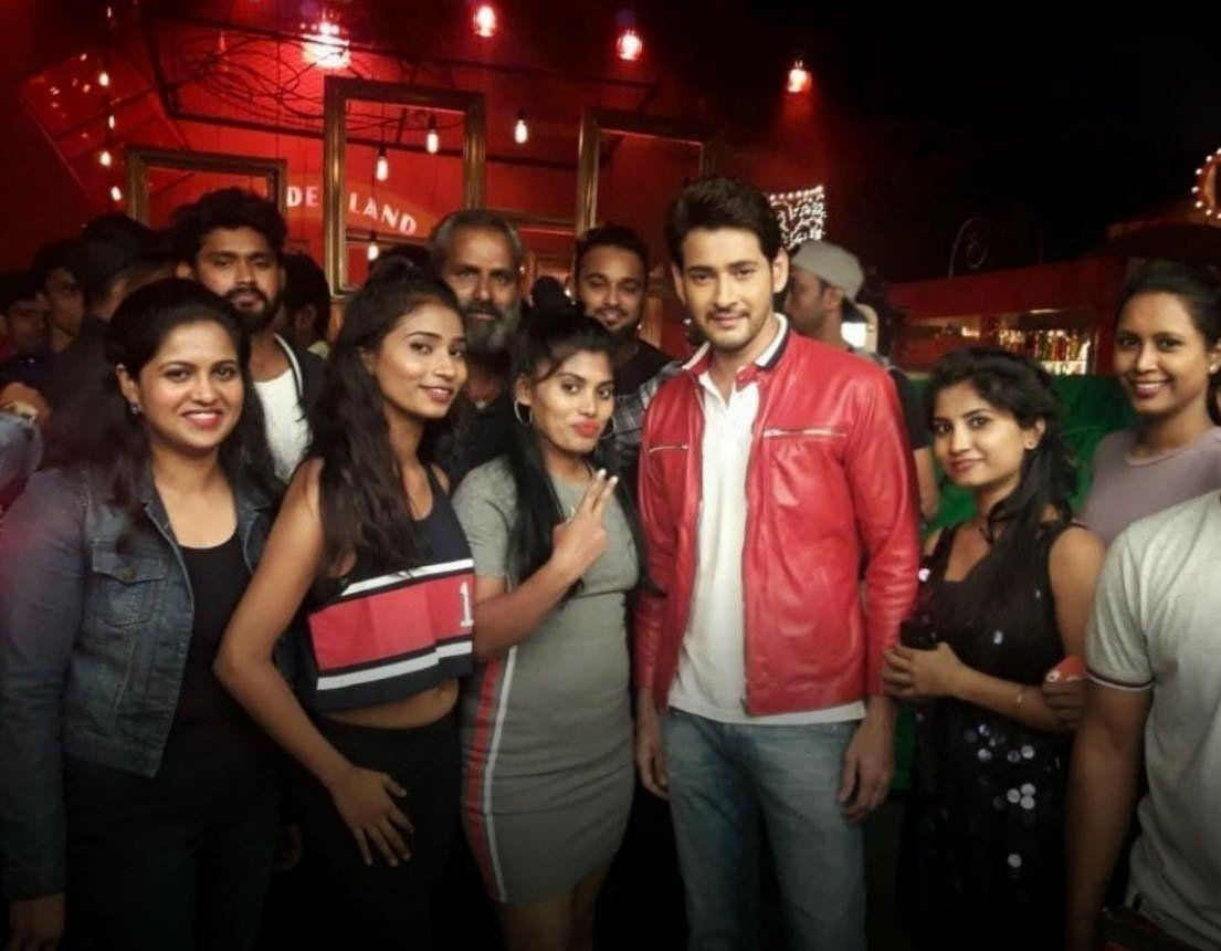 Superstar Mahesh looking dapper in a snap from his recent AD shoot!