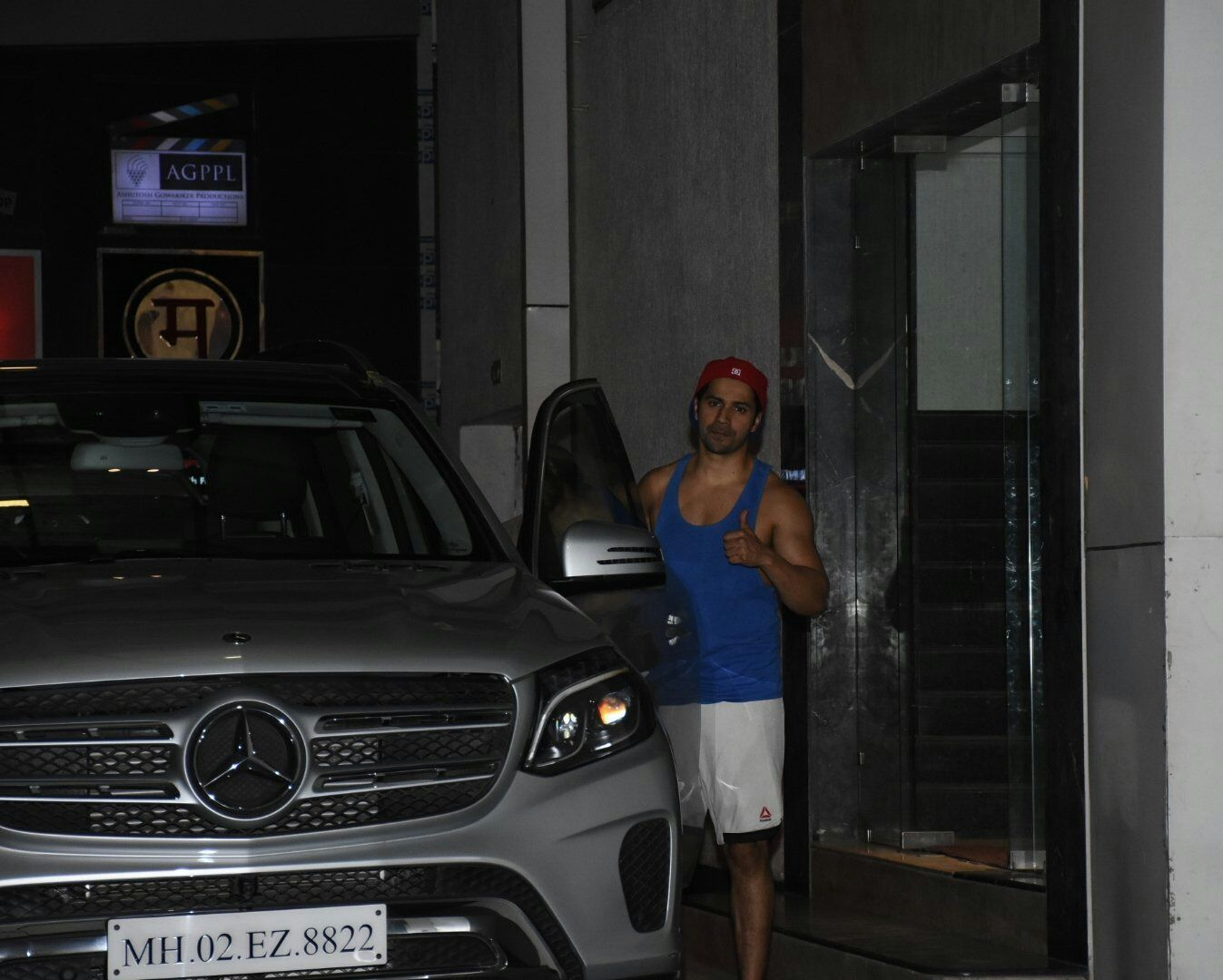 Varun Dhawan Photos From outside the Gym