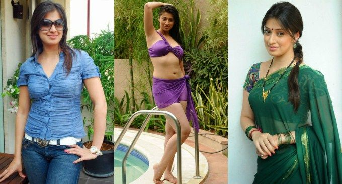 30 South Indian Actress expose in Jeans and Saree and Bikini