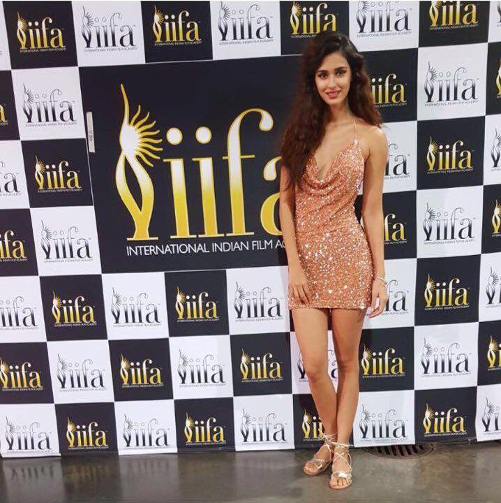 Actress Disha Patani Hot Stills at IIFA Awards 2017