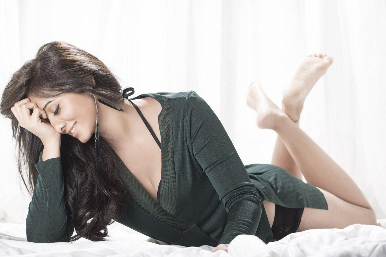 Actress Harshika Lates Hot Sizzling Photo Shoot Stills