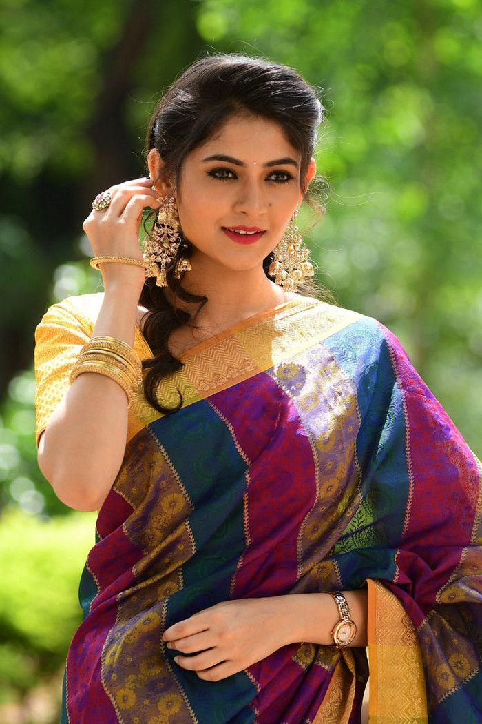 Actress Shivangi Latest Saree Photoshoot Stills