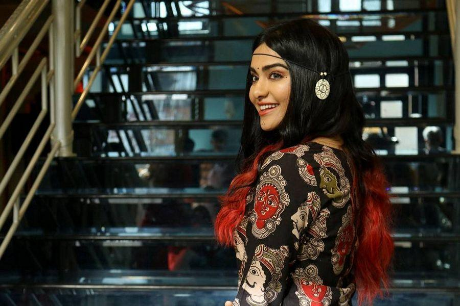 Adah Sharma Stills At Craftsvilla Indian Ethic Wear Fashion Show