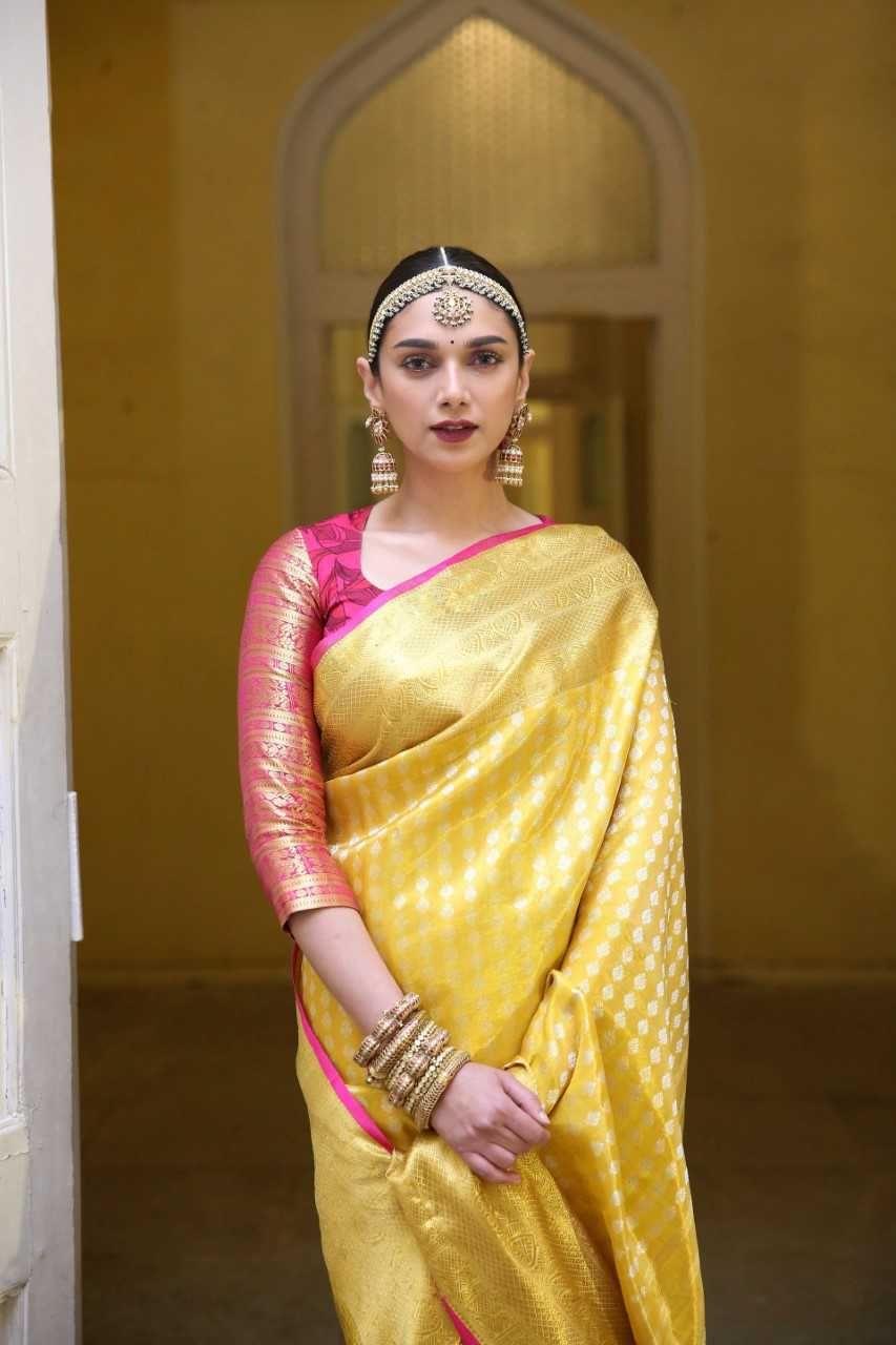 Aditi Rao Hydari Latest Saree Photos