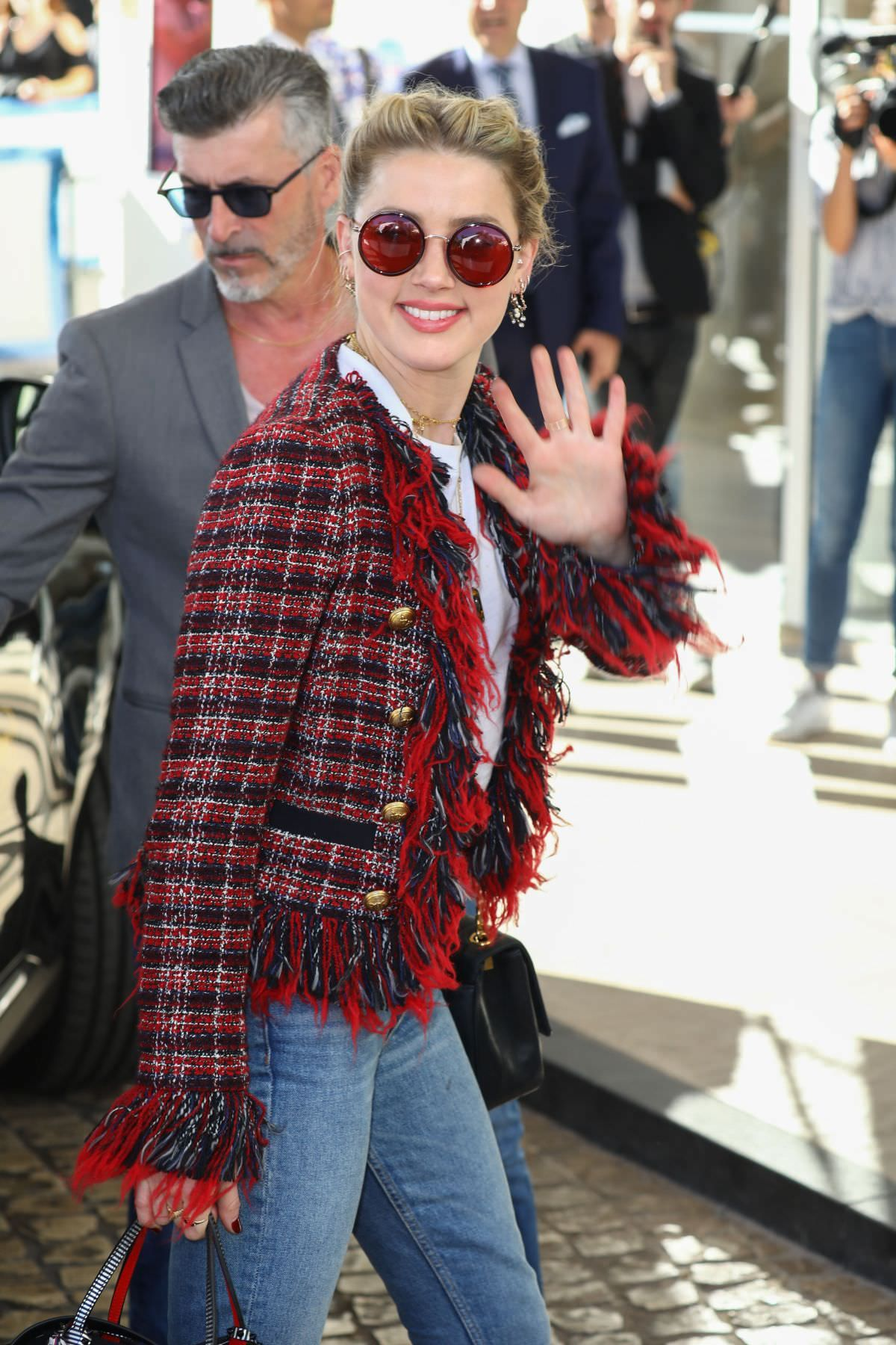 Amber Heard Arrives at 2019 Cannes film festival