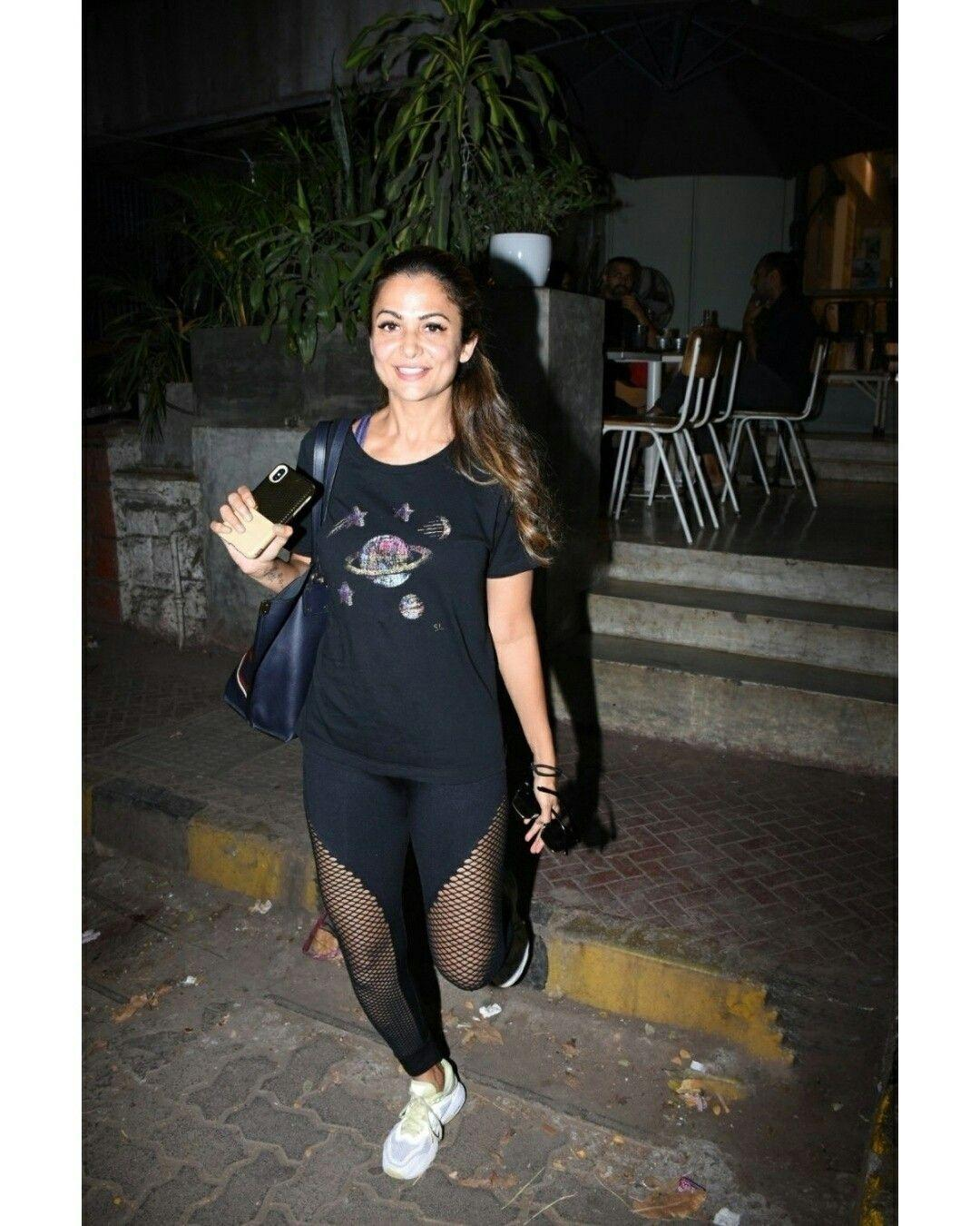 Amrita Arora spotted outside the Gym