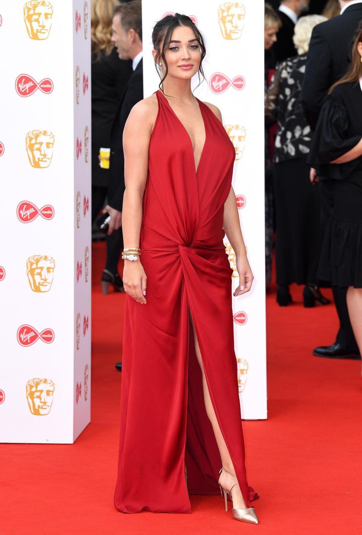 Amy Jackson at 2019 British Academy Television Awards in London