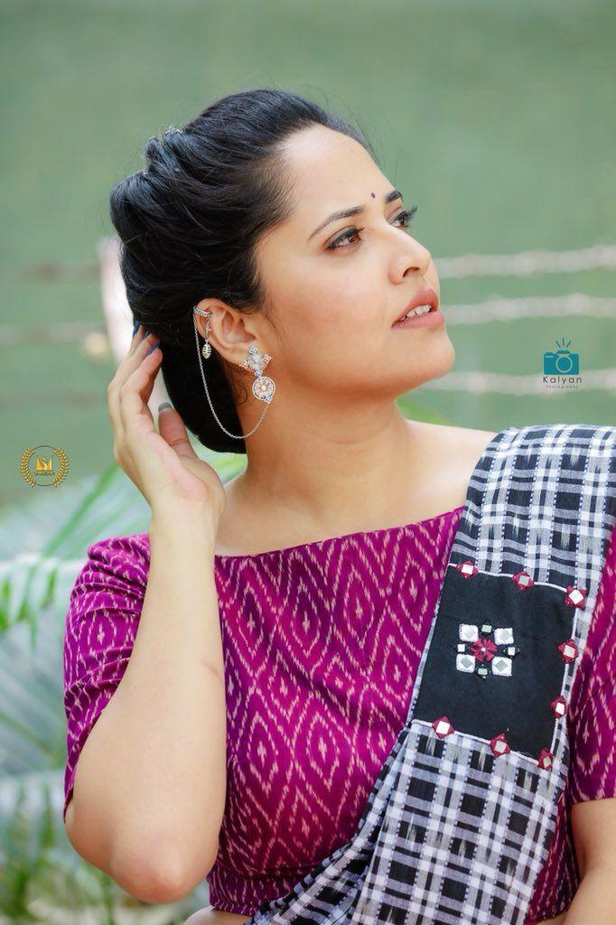 Anchor Anasuya is looking all traditional in her latest photoshoot!!
