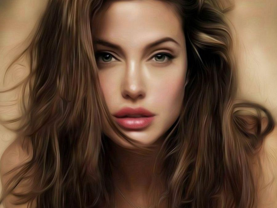 Angelina Jolie Latest Hot HD Close UP Wallpapers