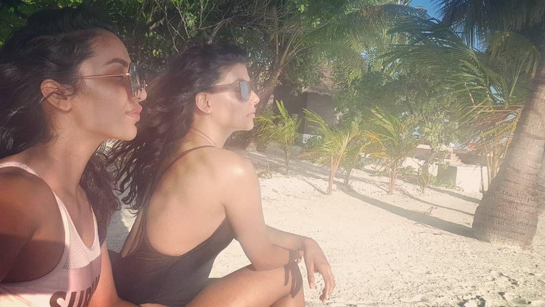 Anisha & Tejaswi are Enjoying Their Vacation Unseen Photos