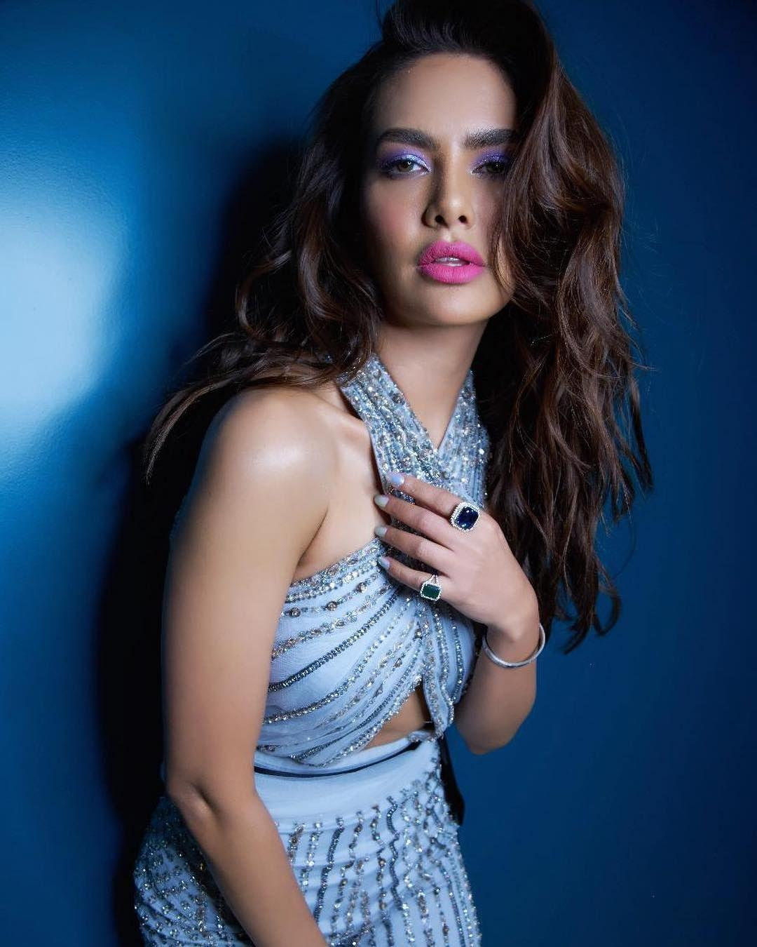 Esha Gupta poses for GQ Magazine