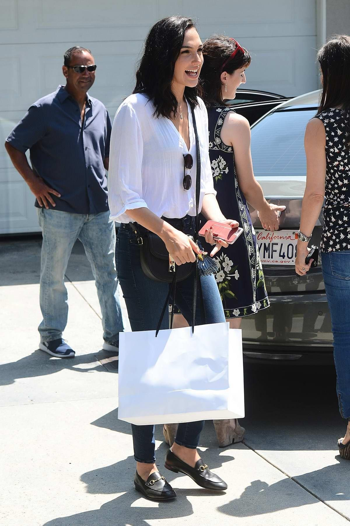 Gal Gadot gifting suite in Brentwood, Los Angeles