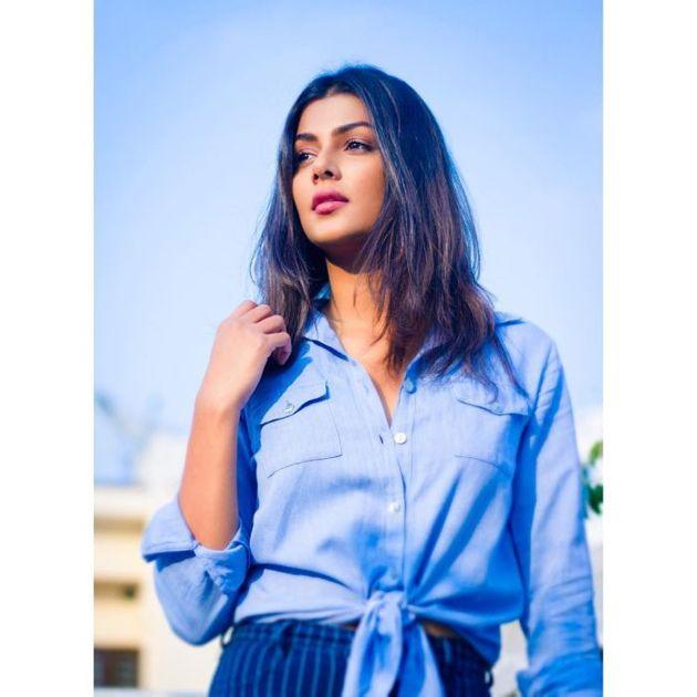 Hot Photoshoot Stills Actress Anisha Ambrose