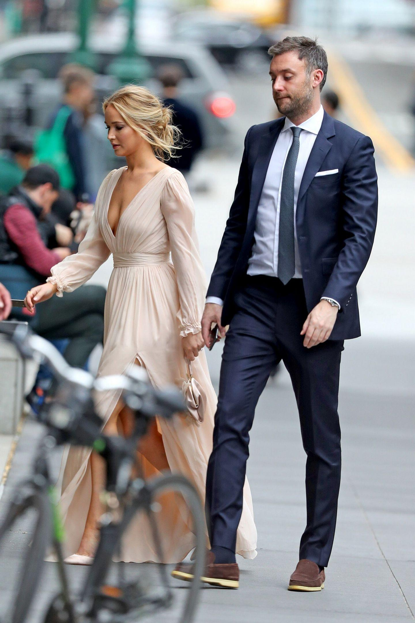 Jennifer Lawrence spotted in New York City
