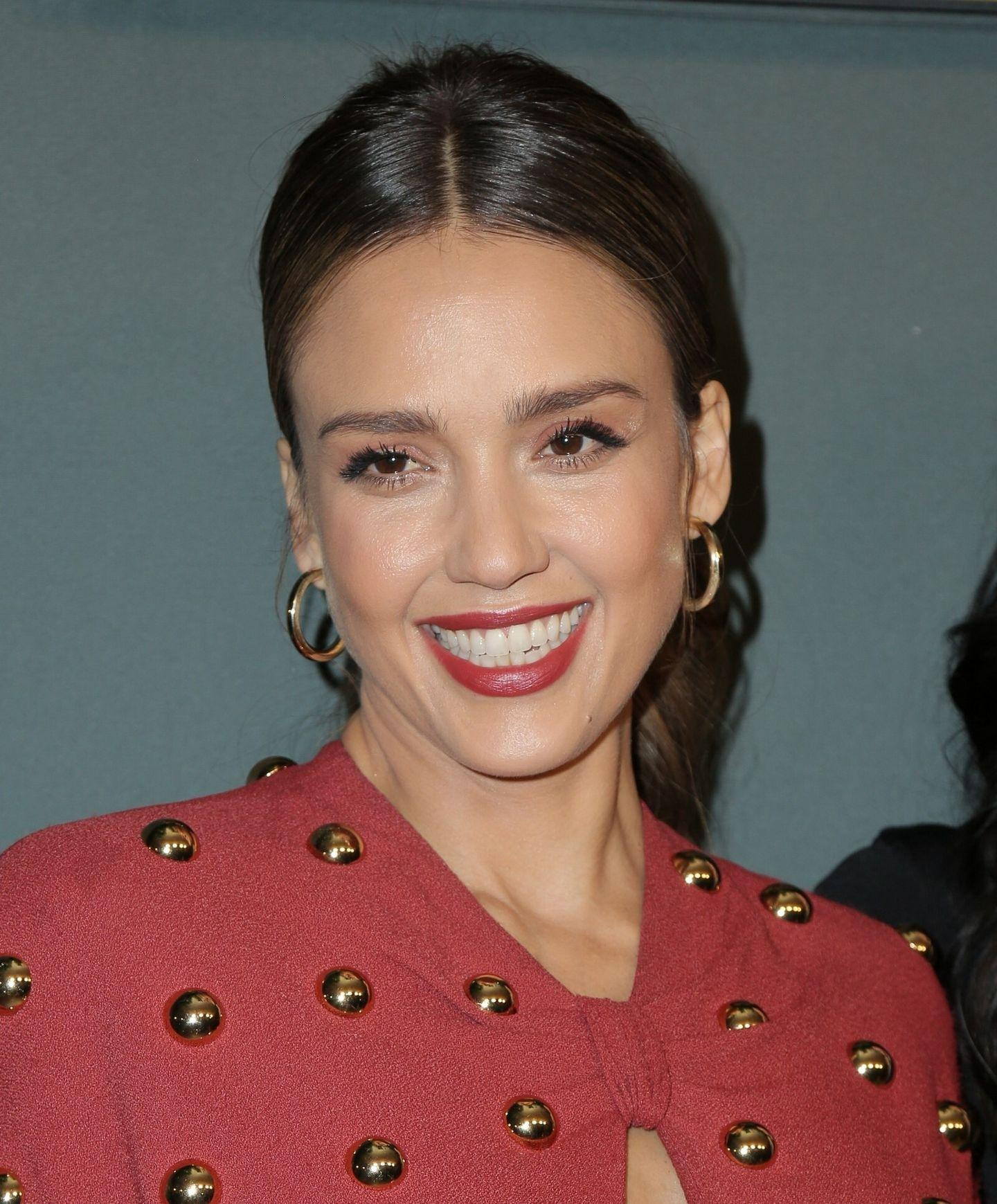 Jessica Alba - L.A.s Finest Premiere in West Hollywood