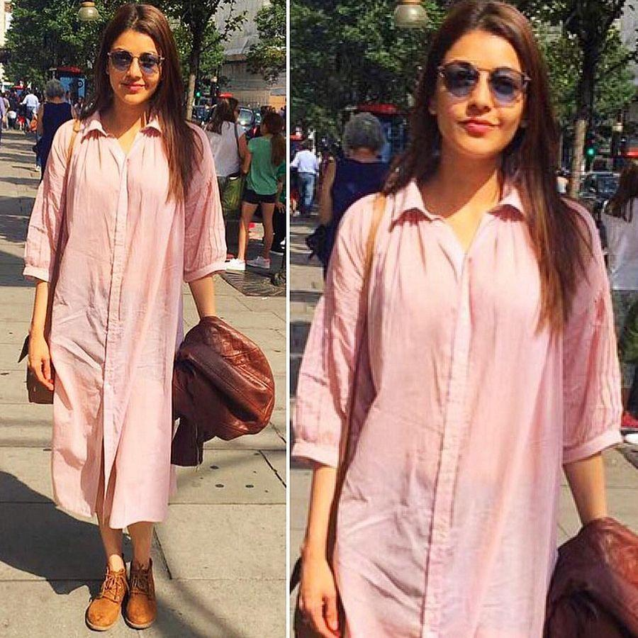 Kajal Agarwal at London Photos