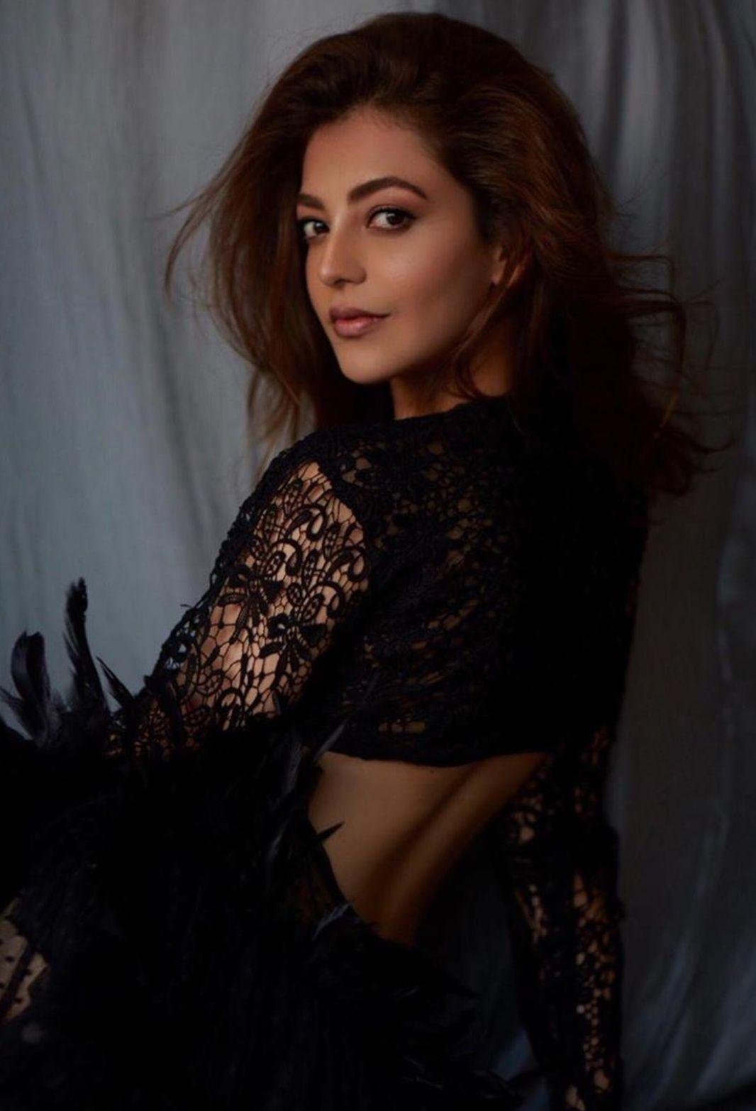 Kajal Aggarwal Black Magic Photoshoot