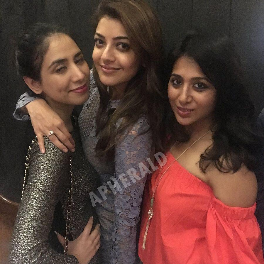Kajal Aggarwal PARTYING HARD an a Private Party Photos Goes Viral on Internet
