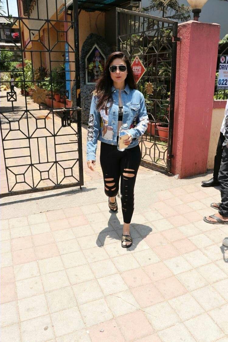 Kareena Kapoor spotted outside Pilates class in Mumbai
