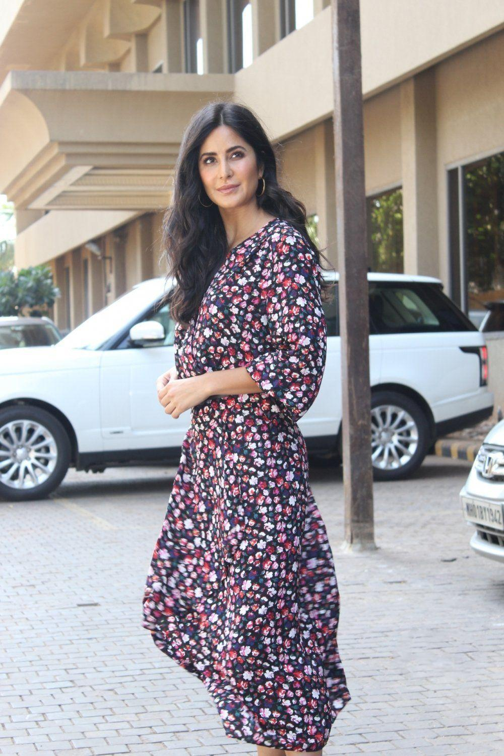 Katrina Kaif during promotions of her upcoming movie Bharat