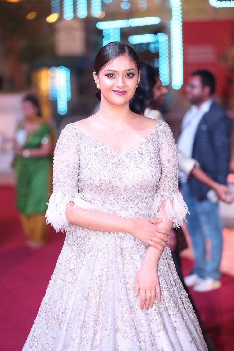 Keerthy Suresh at SIIMA Awards 2018 Photos