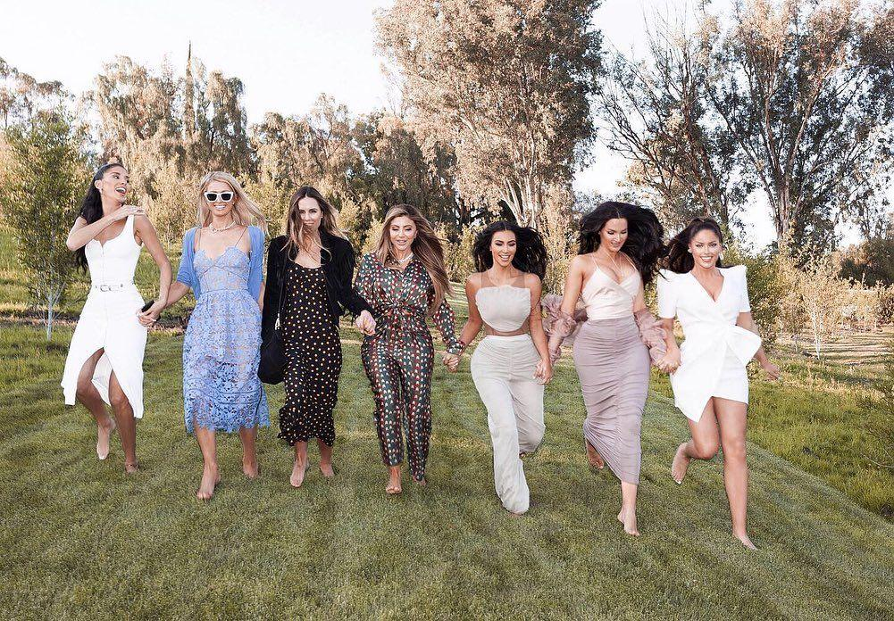 Kim Kardashian enjoying some time with her family