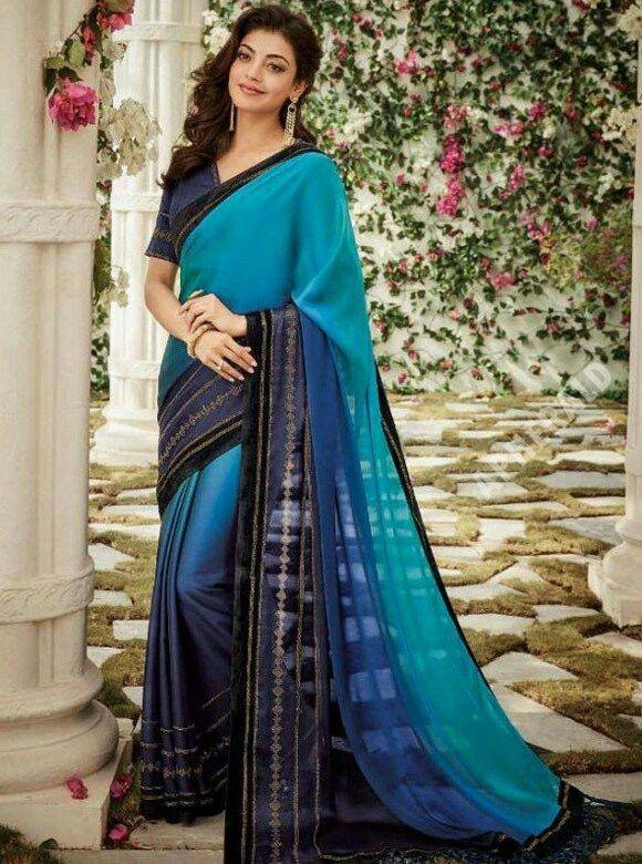 Latest & Unseen clicks of Kajal Aggarwal in Saree
