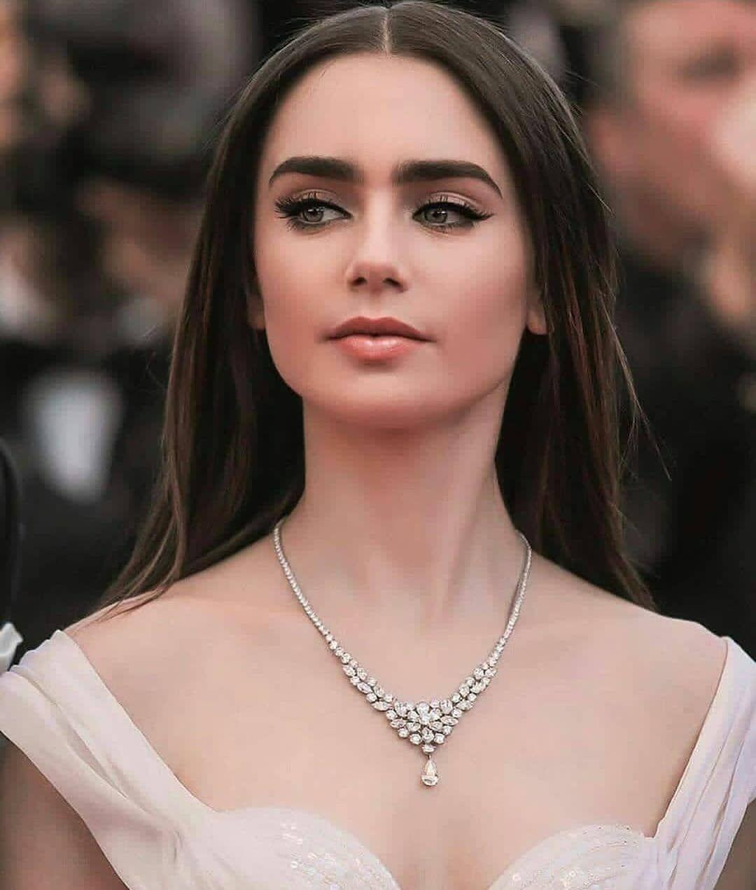 Lily Collins and Jack Gyllenhall at Cannes