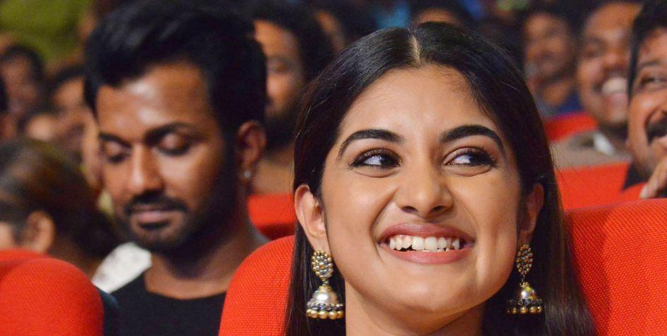Niveda Thomas Stills at Jai Lava Kusa Pre Release Event