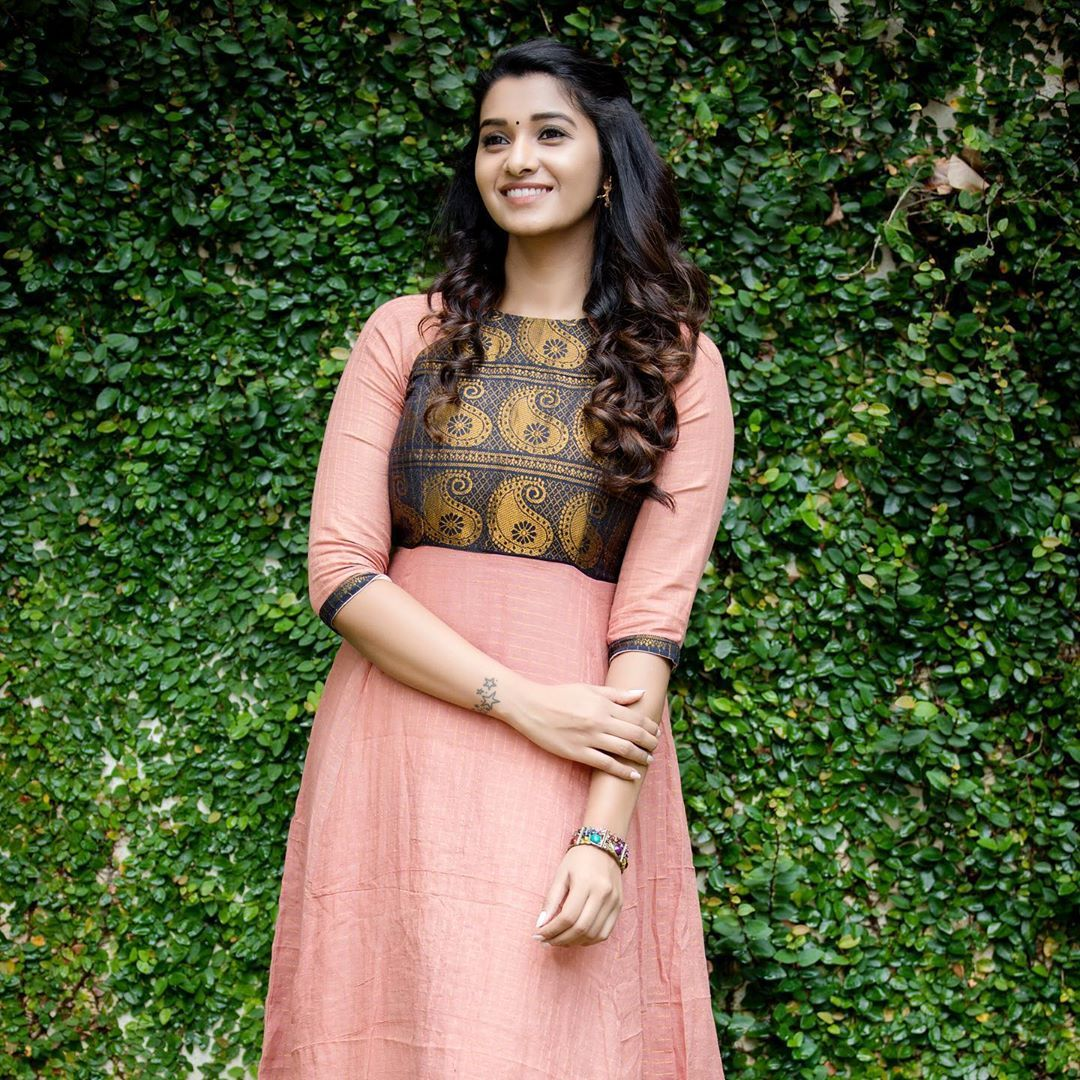 Priya Bhavani Shankar at the promotions of MONSTER