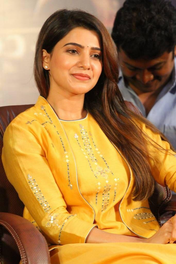 Samantha Stills At Raju Gari Gadhi 2 Movie Press Meet