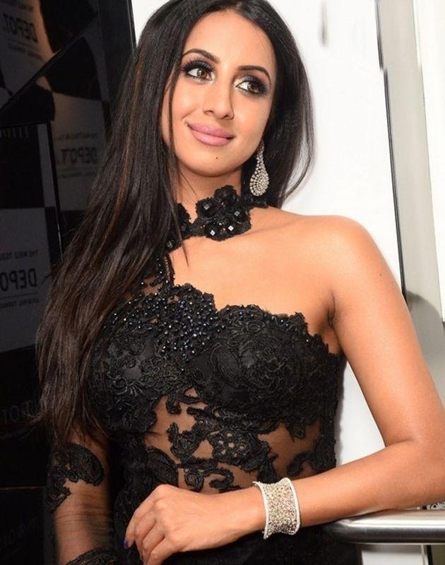 Sanjana at Mirrors New Product Launch Photos