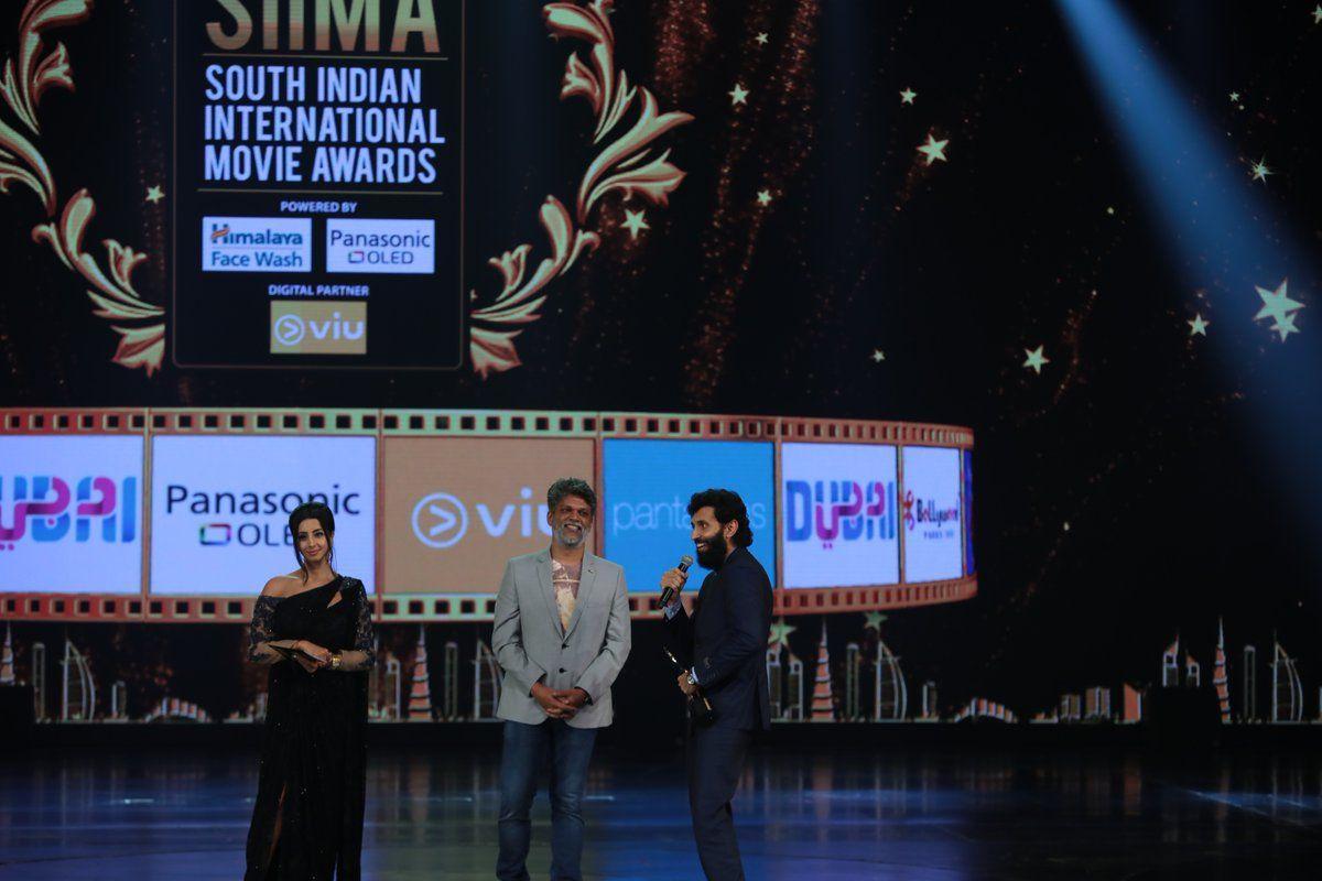 Sanjjana Galrani looking stylish and stunning at SIIMA Awards 2018