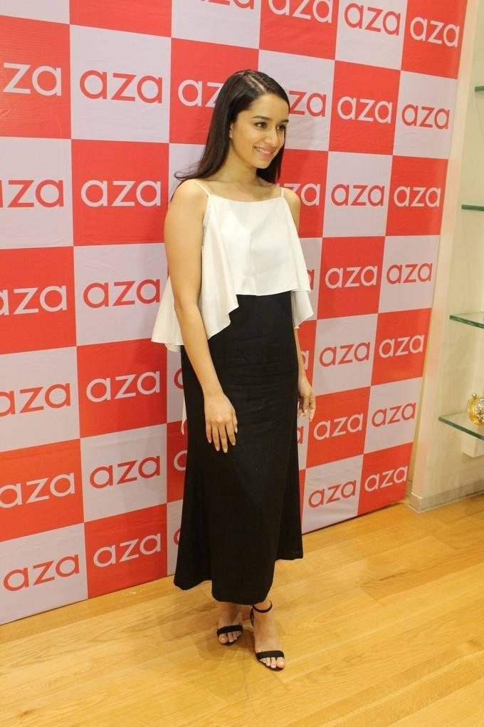 Shraddha Kapoor Stills At Ankita Chokseys New Collection Launch