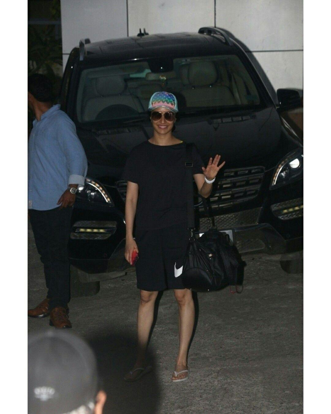 Shraddha Kapoor seen outside her dance class at Andheri