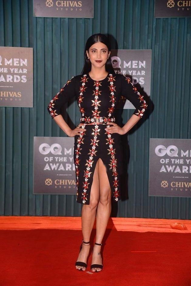 Shruti Haasan at GQ Men of the Year Awards 2018