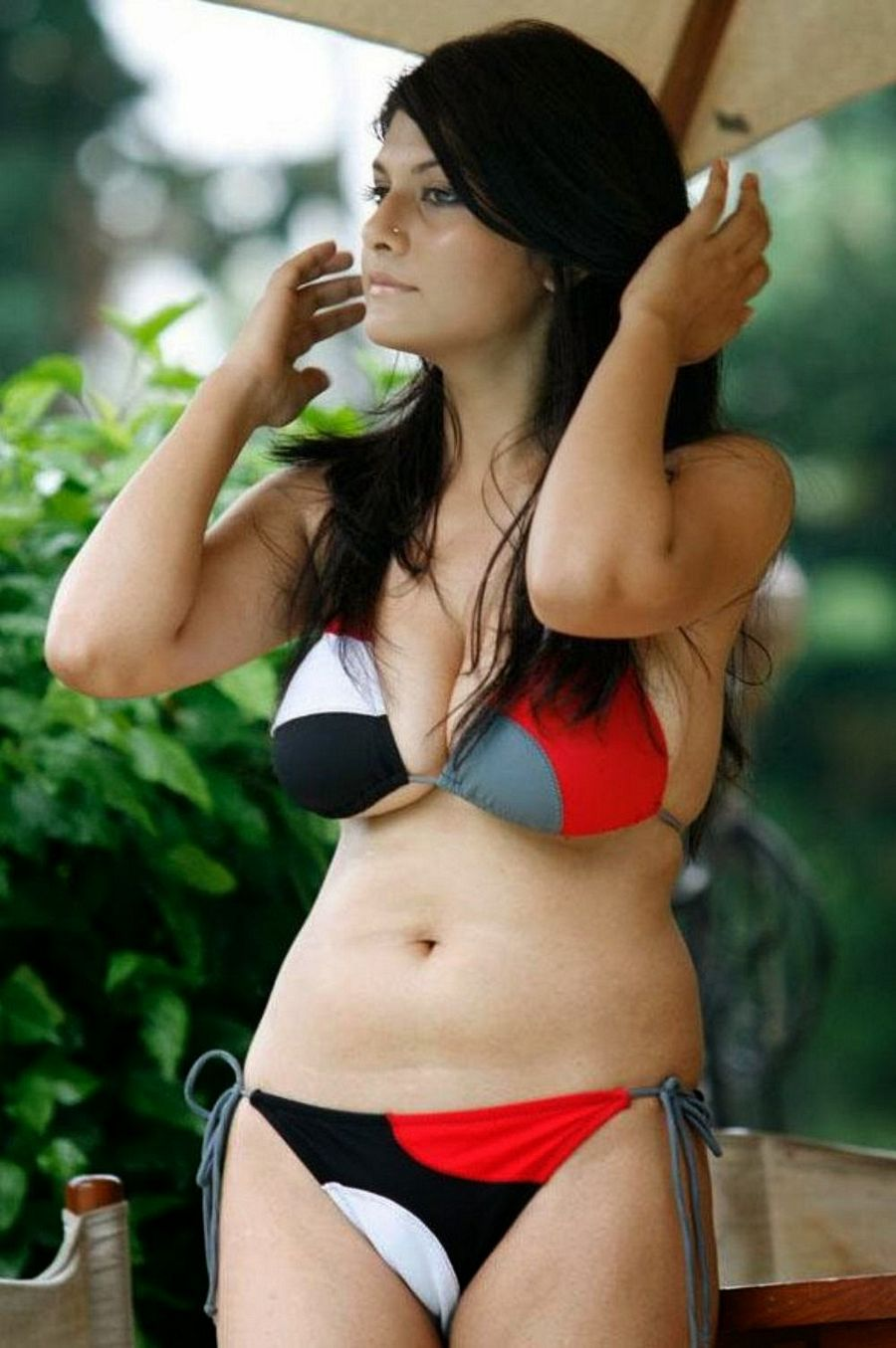 South Indian bikini actress