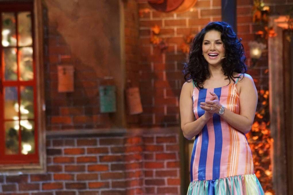 Sunny Leone Stills At The Drama Company Tv Show