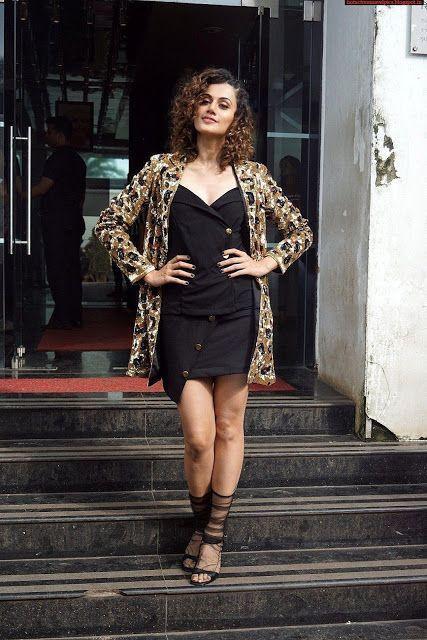 Taapsee Pannu Latest Hot Stills at Judwaa 2 Movie Promotions