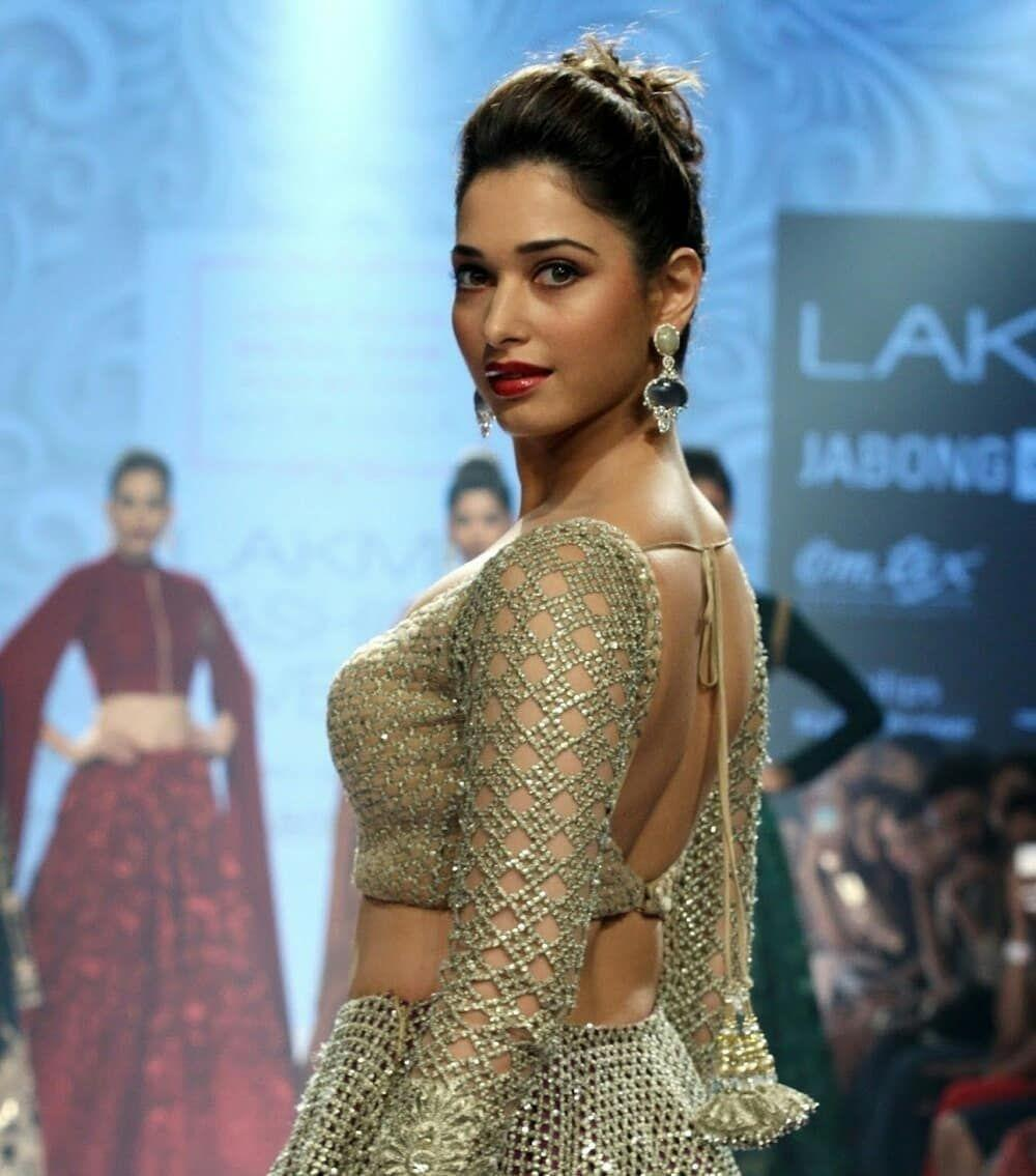 Tamanna at Lakme Fashion Week