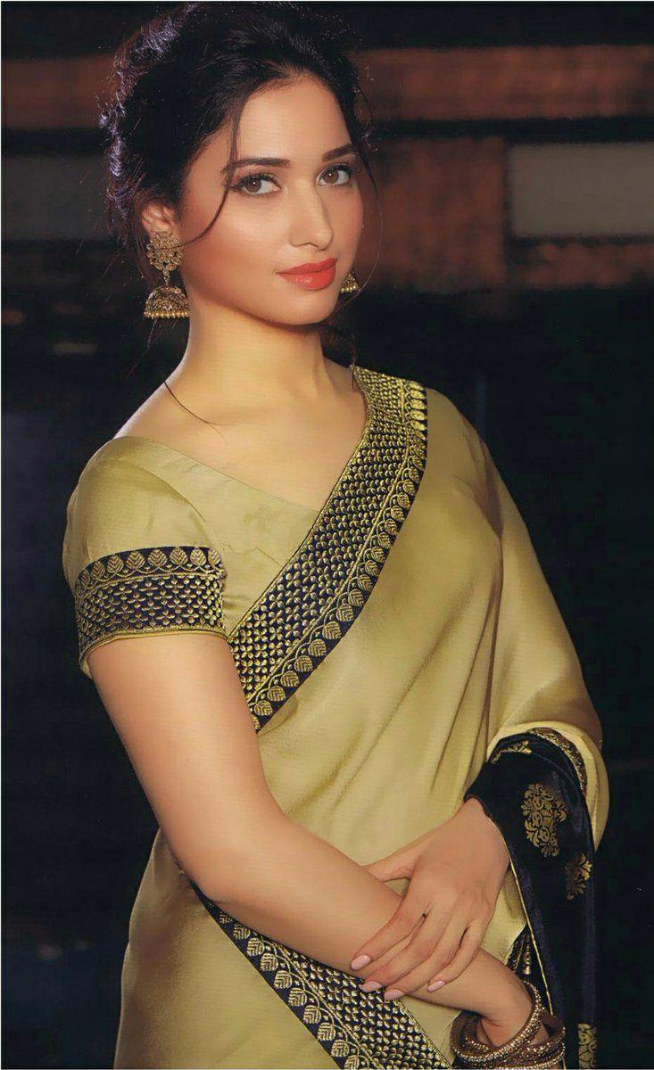 Tamanna In Saree Latest Photos