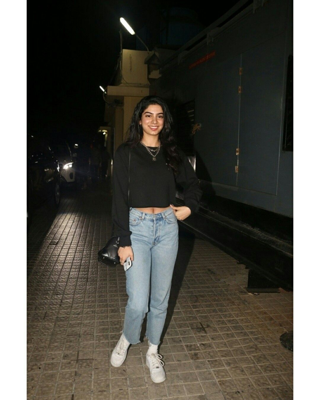Tara Sutaria spotted outside her residence