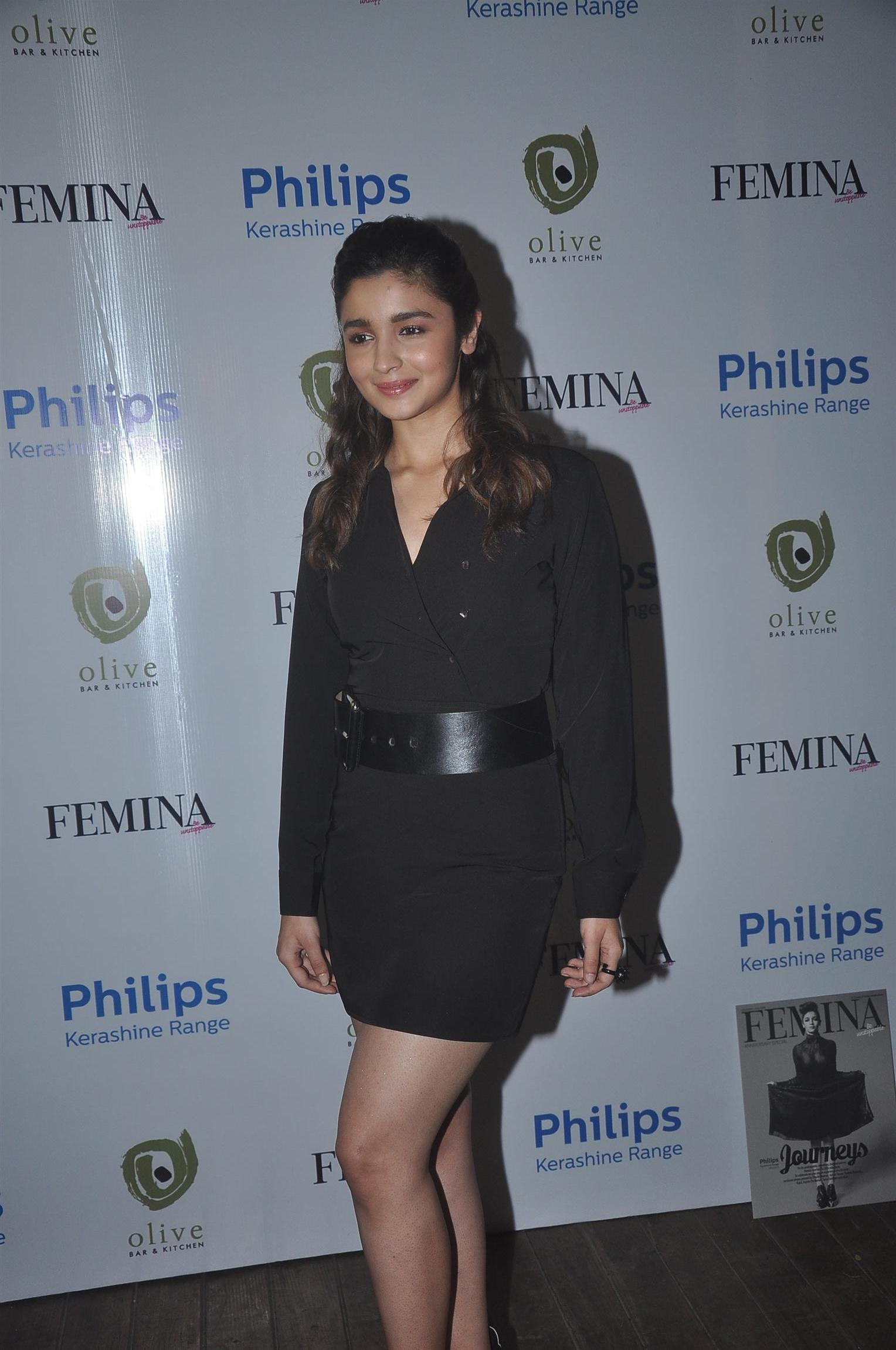 Alia Bhatt In A Sexy Dress During A Philips Launch Event